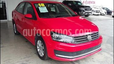 Volkswagen Vento Comfortline Aut usado (2018) color Rojo precio $190,000