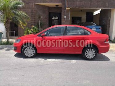 Volkswagen Vento Startline Aut usado (2020) color Rojo precio $209,000