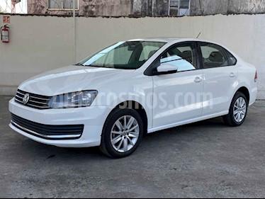 Volkswagen Vento 4p Confortline L4/1.6 Aut usado (2019) color Blanco precio $193,400