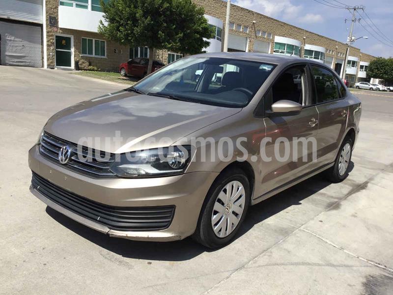Volkswagen Vento Startline usado (2018) color Dorado precio $57,000