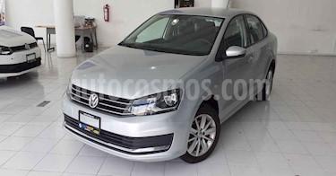 Volkswagen Vento 4p Confortline L4/1.6 Aut usado (2019) color Plata precio $179,900