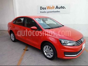 Volkswagen Vento 4p Confortline L4/1.6 Man usado (2019) color Rojo precio $225,000