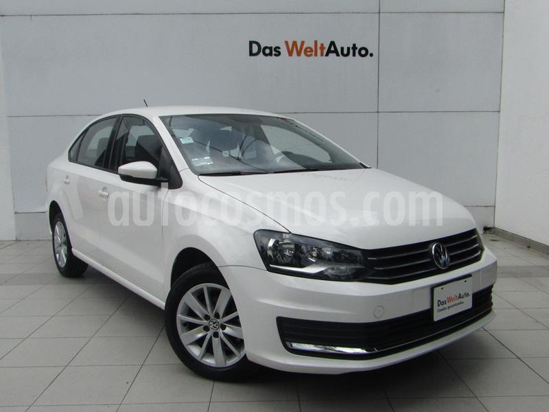 Volkswagen Vento Comfortline usado (2018) color Blanco Candy precio $195,000