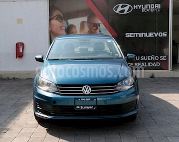 Volkswagen Vento Startline Aut usado (2018) color Azul precio $159,000