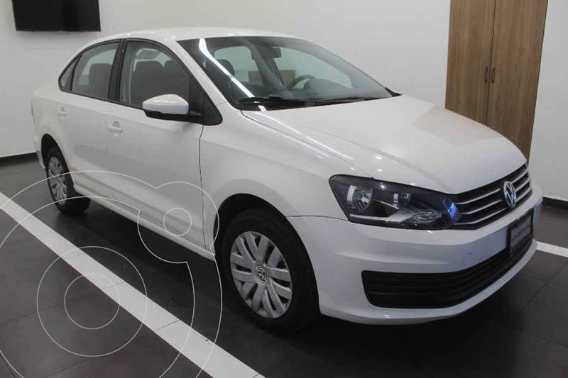 Foto Volkswagen Vento Startline Aut usado (2019) color Blanco precio $205,000