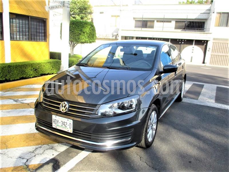 Volkswagen Vento Comfortline usado (2020) color Gris Carbono precio $189,900