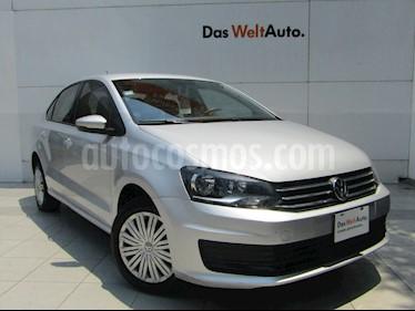 Volkswagen Vento Startline usado (2019) color Plata Reflex precio $189,000