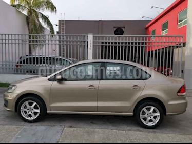 Volkswagen Vento 1.6L usado (2017) color Cafe precio $138,000