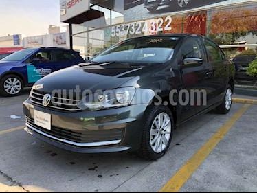 Volkswagen Vento 4p Confortline L4/1.6 Aut usado (2019) color Gris precio $214,990