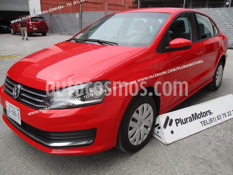 Volkswagen Vento Comfortline usado (2018) color Rojo precio $165,000