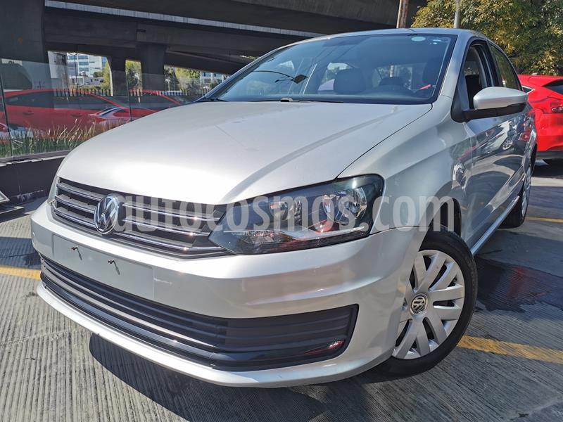 Foto Volkswagen Vento Startline usado (2019) color Plata Reflex precio $185,000