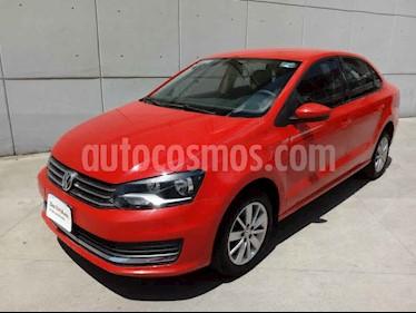 Volkswagen Vento Comfortline usado (2018) color Rojo precio $185,000