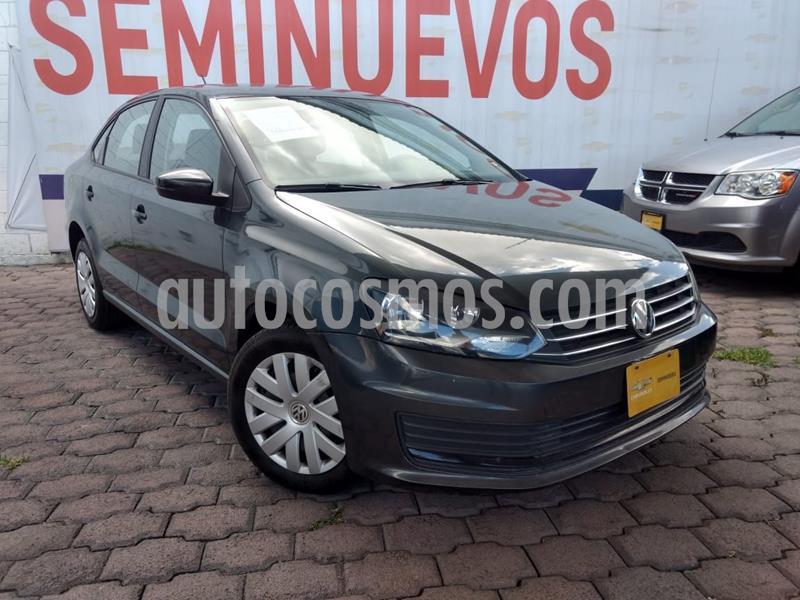 Volkswagen Vento Startline Aut usado (2018) color Gris precio $170,000
