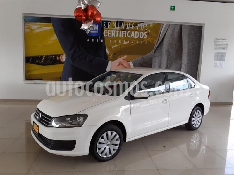 Volkswagen Vento Startline Aut usado (2018) color Blanco precio $155,500