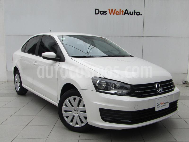 Volkswagen Vento Startline Aut usado (2018) color Blanco Candy precio $189,000