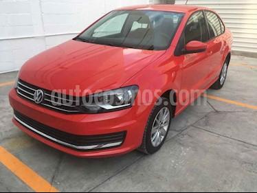 Volkswagen Vento 4p Confortline L4/1.6 Aut usado (2019) color Rojo precio $228,000