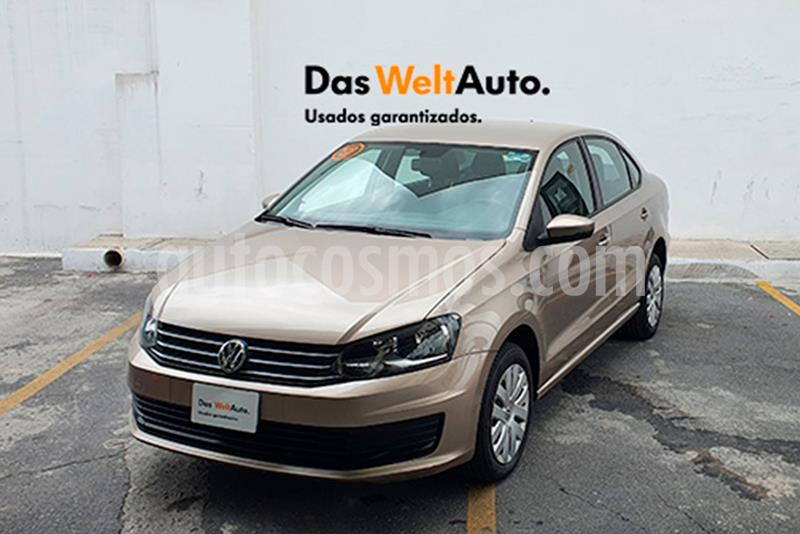 Volkswagen Vento Startline usado (2018) color Beige Metalico precio $215,000