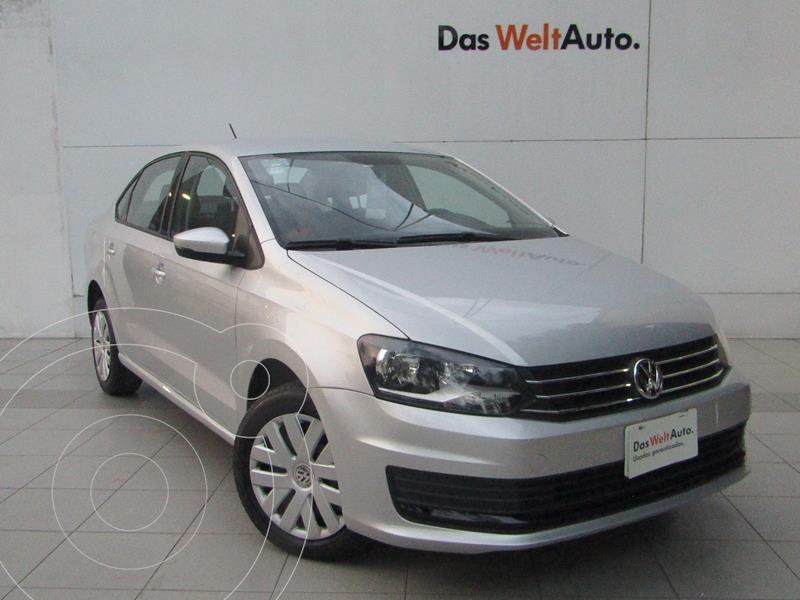 Foto Volkswagen Vento Startline Aut usado (2020) color Plata Reflex precio $199,000
