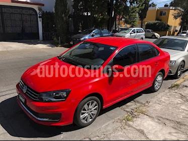 Volkswagen Vento Comfortline usado (2017) color Rojo precio $142,000