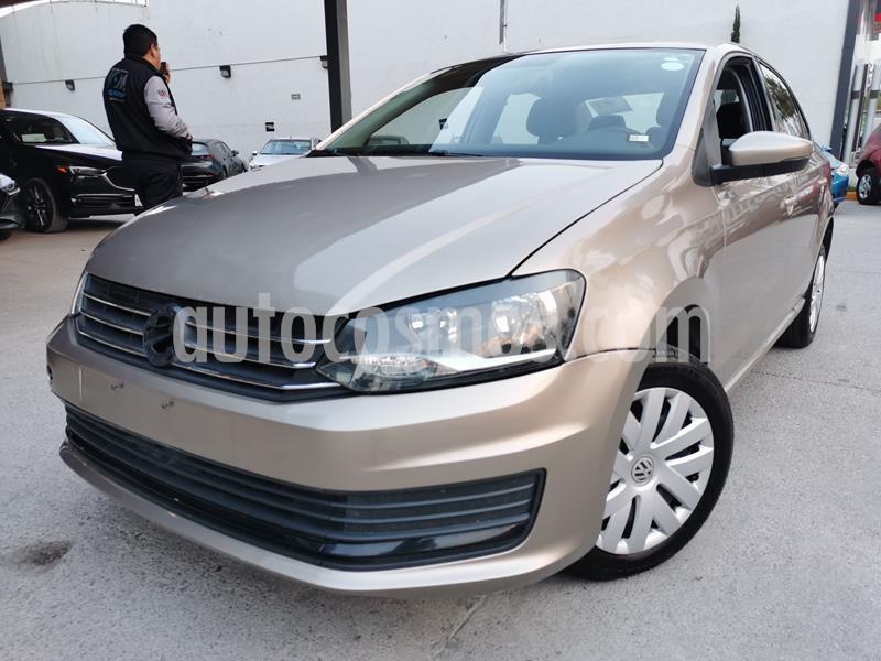 Foto Volkswagen Vento Startline Aut usado (2019) color Beige Metalico precio $180,000
