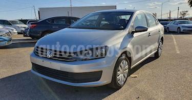Volkswagen Vento 4p Starline L4/1.6 Aut usado (2019) color Plata precio $148,800