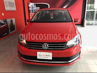Volkswagen Vento 4p Confortline L4/1.6 Man usado (2019) color Rojo precio $200,000