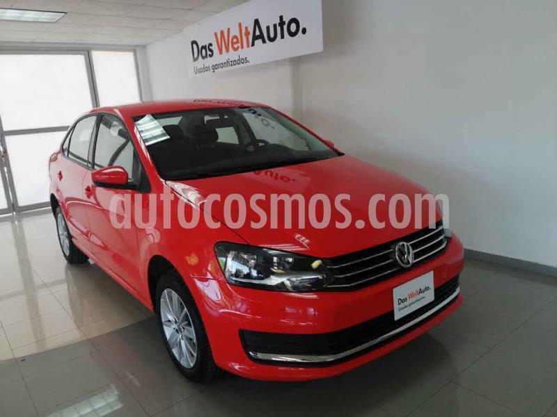Volkswagen Vento Comfortline Plus Aut usado (2020) color Rojo precio $235,000