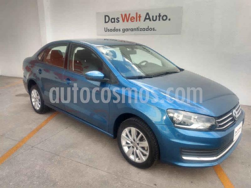 Volkswagen Vento Comfortline Aut usado (2019) color Azul precio $230,000