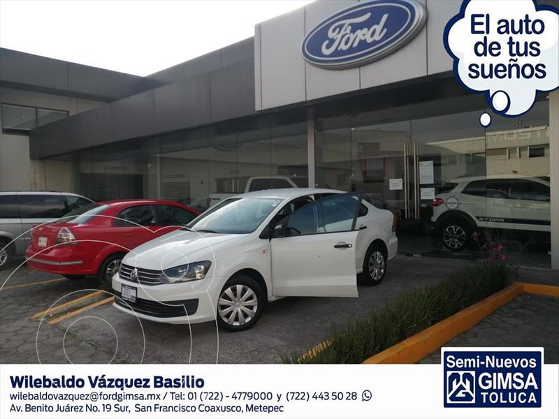 Volkswagen Vento STARTLINE STD usado (2017) color Blanco precio $136,000