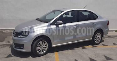 Volkswagen Vento 4p Confortline L4/1.6 Aut usado (2019) color Plata precio $156,800