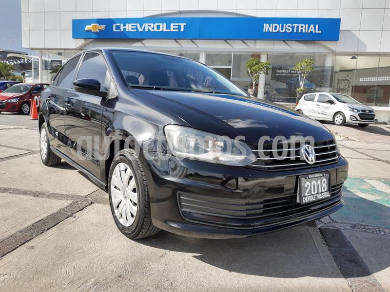 Volkswagen Vento Startline usado (2018) color Negro Profundo precio $149,000