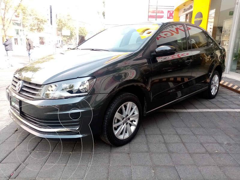 Volkswagen Vento Comfortline Aut usado (2020) color Gris precio $219,000