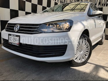 Volkswagen Vento Startline Aut usado (2020) color Blanco Candy precio $215,000