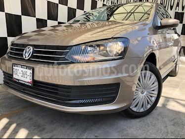 Volkswagen Vento Startline Aut usado (2020) color Marron precio $215,000