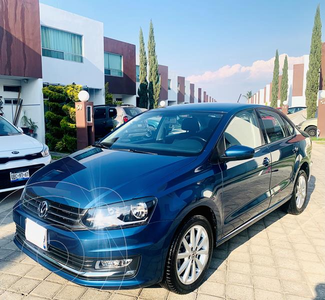 Volkswagen Vento Highline usado (2018) color Azul precio $179,500