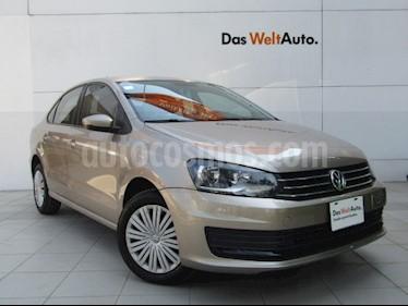 Volkswagen Vento Startline usado (2019) color Beige Metalico precio $189,000