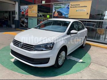 Volkswagen Vento Startline Aut usado (2020) color Blanco precio $213,990