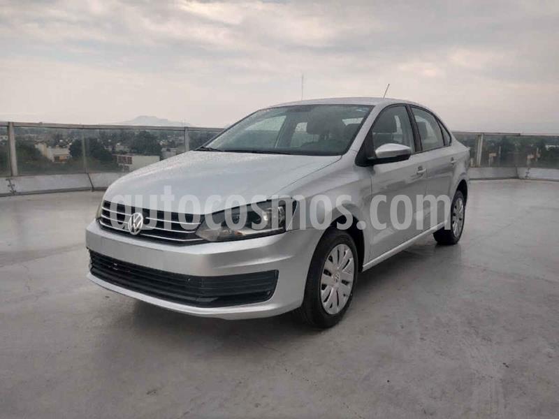 Volkswagen Vento Startline Aut usado (2019) color Plata precio $169,000