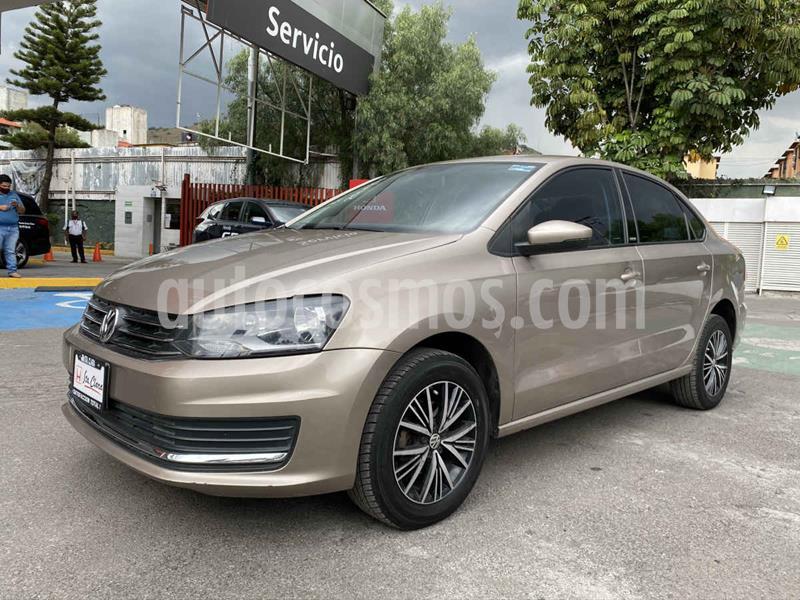 Volkswagen Vento Allstar Aut usado (2017) color Beige precio $155,000