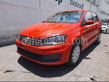 Volkswagen Vento 4P STARLINE TM5 A/AC. VE R-15 usado (2016) color Rojo precio $143,000