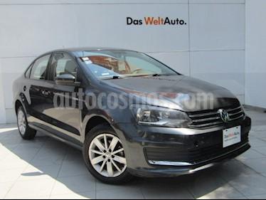 Volkswagen Vento Comfortline Aut usado (2017) color Gris Carbono precio $159,000