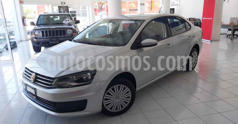Volkswagen Vento 4p Starline L4/1.6 Aut usado (2019) color Plata precio $156,900