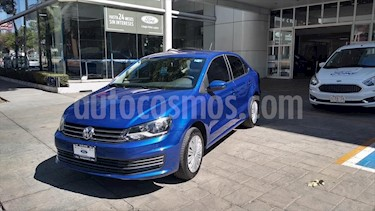 Volkswagen Vento STARTLINE STD usado (2019) color Azul Electrico precio $185,000