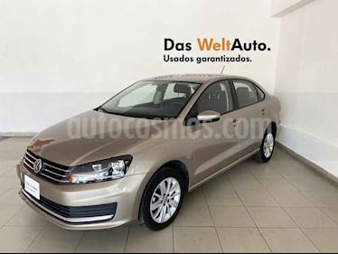 Volkswagen Vento 4p Confortline L4/1.6 Man usado (2019) color Beige precio $211,682