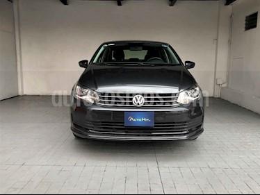 Volkswagen Vento 4p Confortline L4/1.6 Man usado (2018) color Gris precio $185,000
