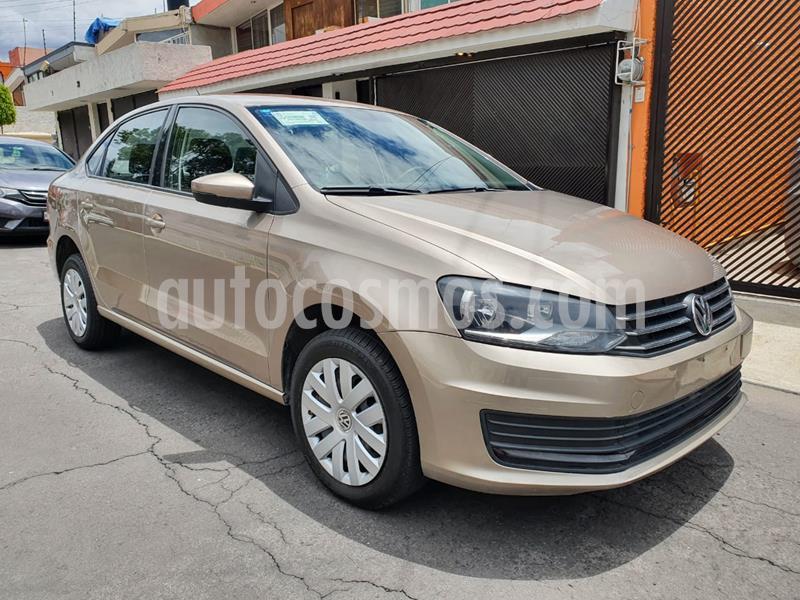Volkswagen Vento Startline Aut usado (2019) color Beige Metalico precio $170,000
