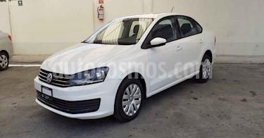 Volkswagen Vento 4p Starline L4/1.6 Aut usado (2018) color Blanco precio $148,900