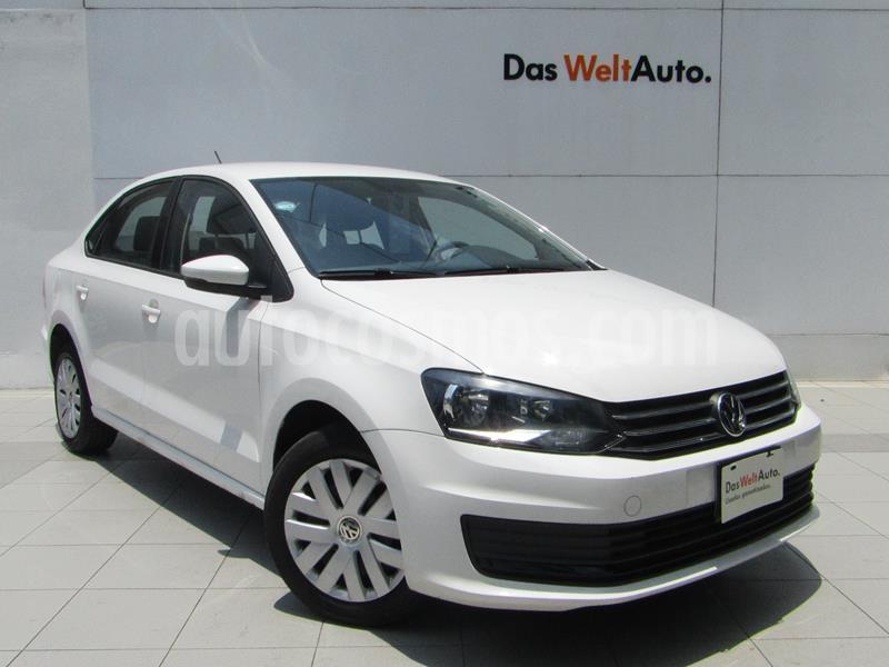 Volkswagen Vento Startline usado (2018) color Blanco Candy precio $169,000