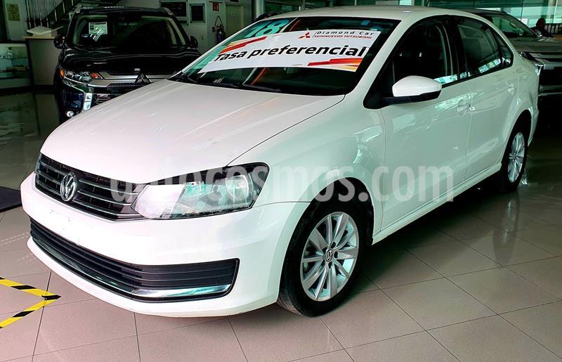 Volkswagen Vento Comfortline usado (2018) color Blanco precio $180,000