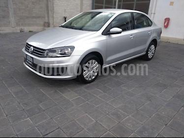 Volkswagen Vento Startline Aut usado (2018) color Plata precio $159,000